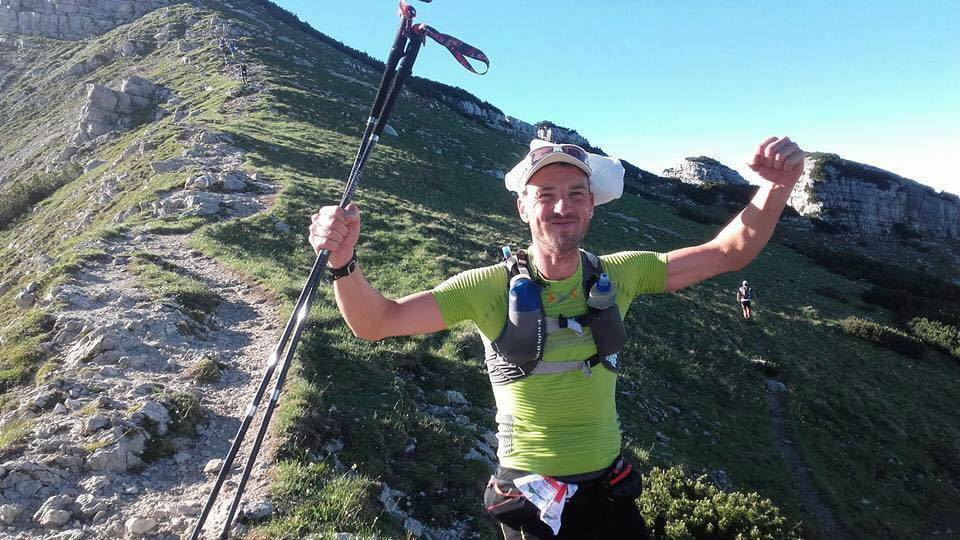 Denis Comper al Vigolana Trail 57 km