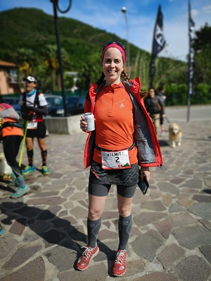 Barbara Conrad alla Lago Maggiore International Trail 2019 vegansport
