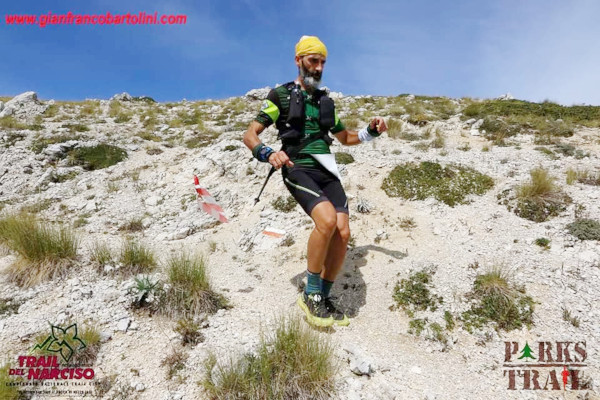 Francesco Diana al Trail del Narciso 2019