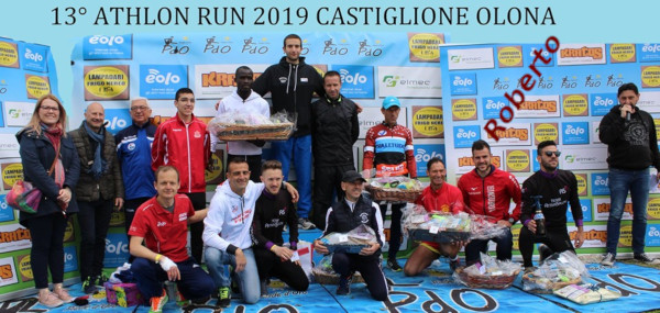 Roberto Chiodo alla Athlon Run 2019